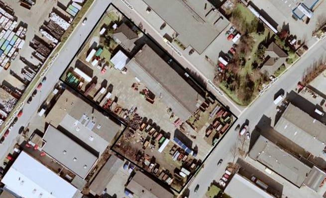 Gloria Industriegebiet-Ost von oben